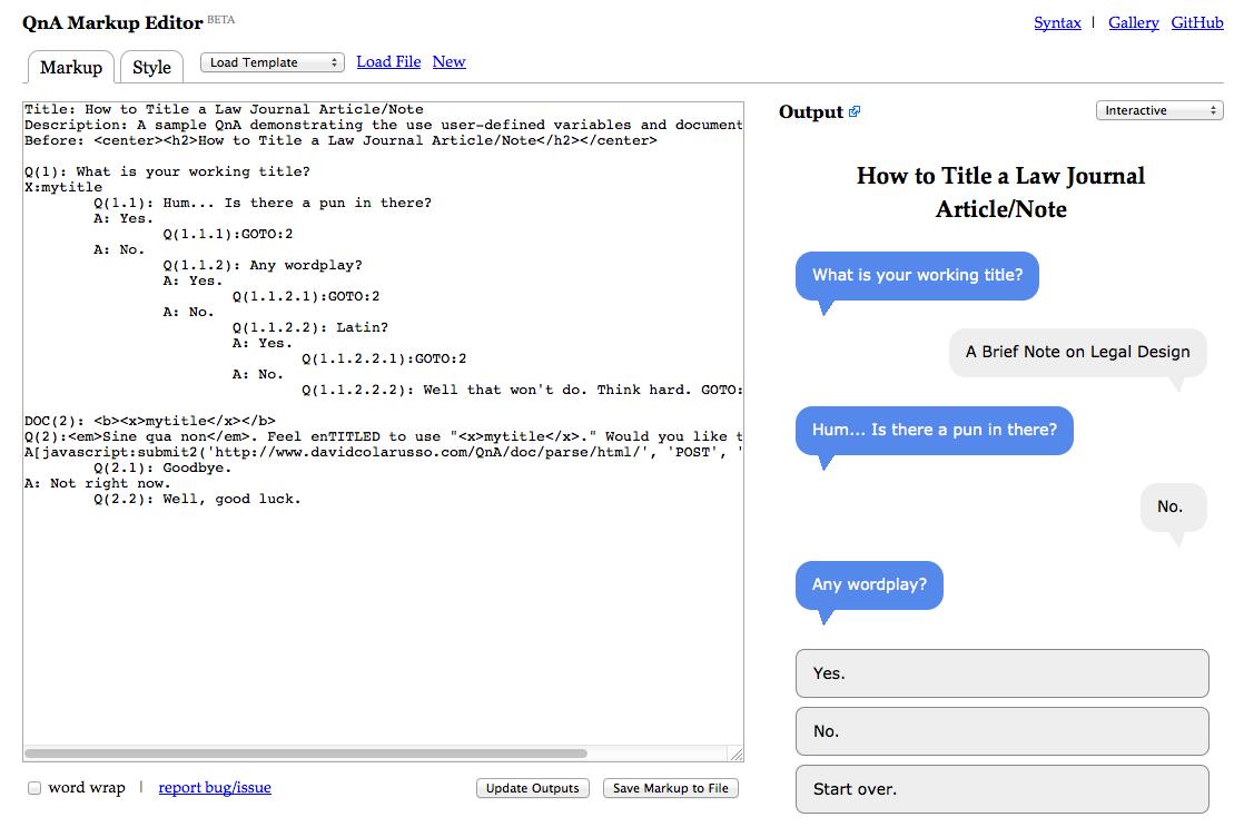 Legal Design Toolbox - QnA Markup 3