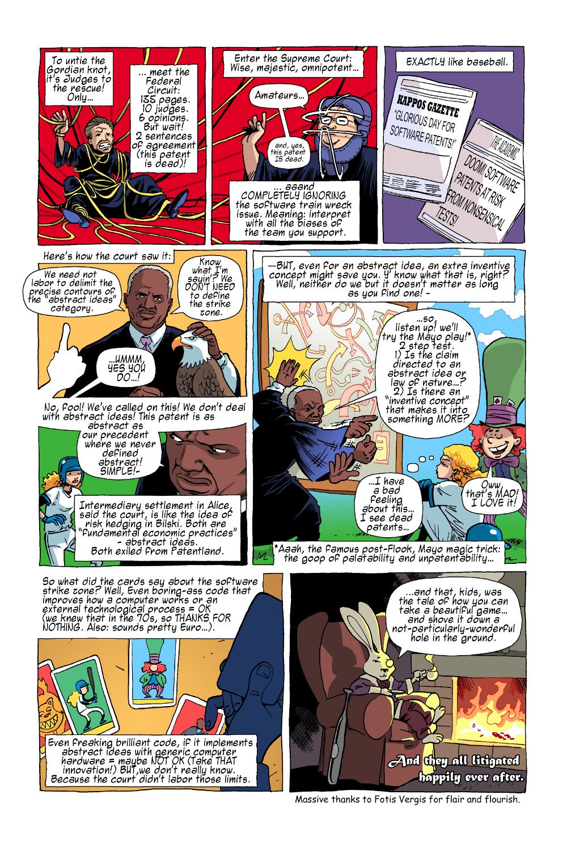 Visual Law - Law Comics - Alice in Patentland 2