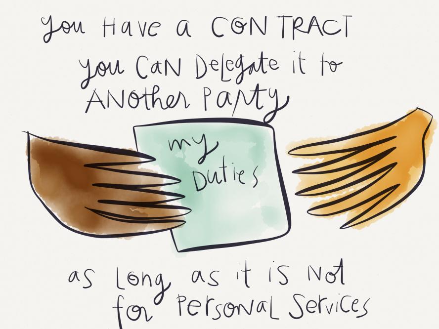 Margaret Hagan - Contract Delegation - Bar Study Legal Visual