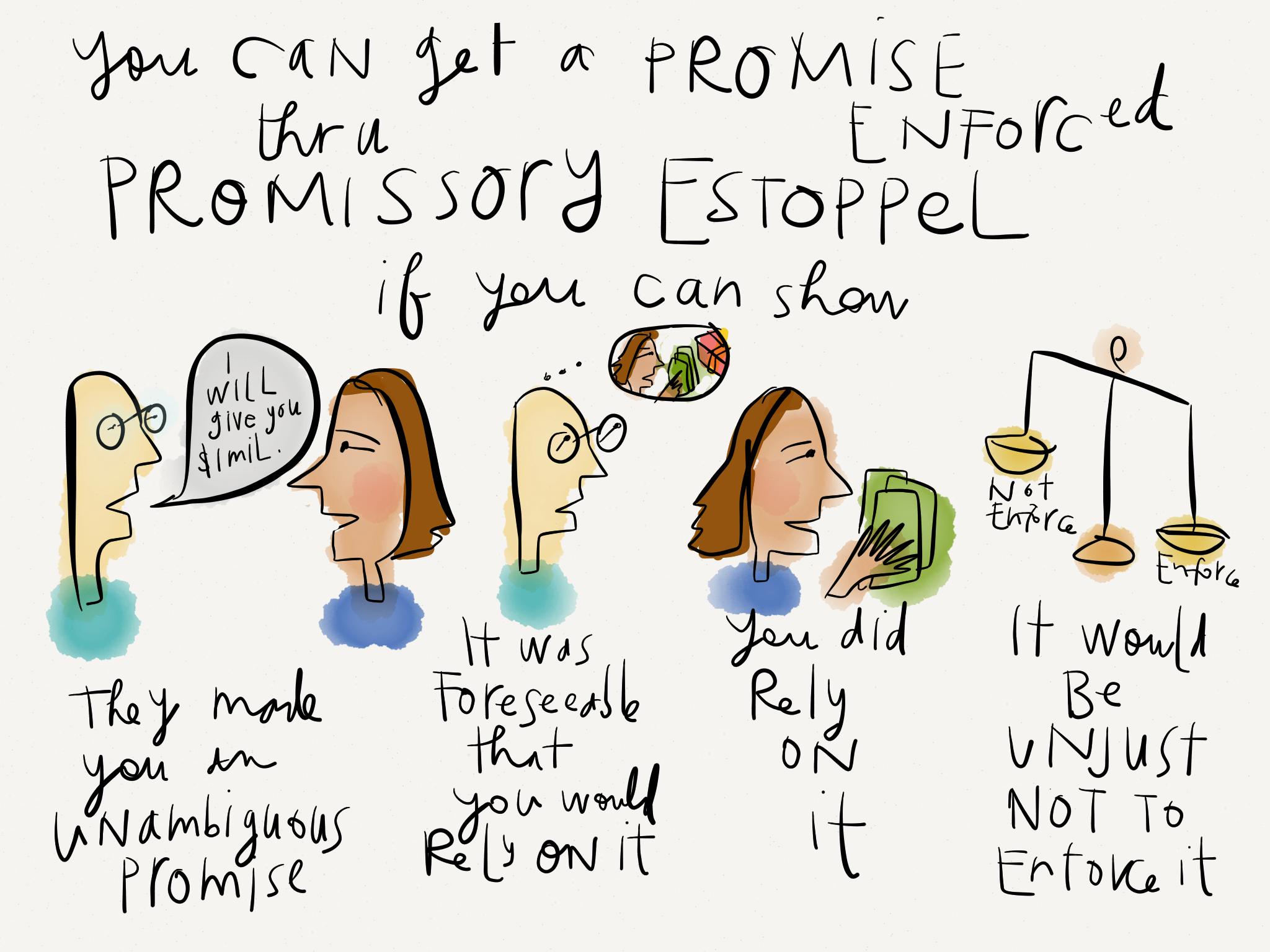 Enforcing Promises through Promissory Estoppel